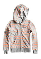ROXY Kids Bajamar Hooded Zip Sweat heritage heathe