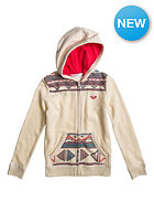 ROXY Kids Holiroxy PT A G Hooded Zip Sweat turtle dove