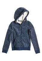 ROXY Kids Mason Hooded Zip Sweat dark denim