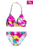 ROXY Kids Ruffle Tiki Tri Set Bikini sea salt
