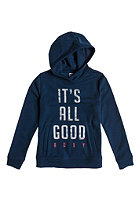 ROXY Kids This Is Roxy Hooded Sweat dark denim