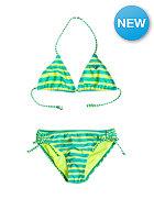 ROXY Kids Tiki Triangle Bikini Set roxy all aboard turquoise