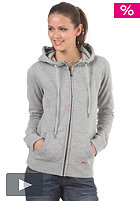 ROXY Loop The Loop Hooded Zip Sweat star emby heather grey