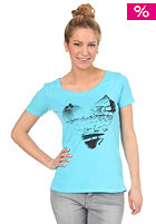 ROXY Love Your Beach S/S T-Shirt neon blue