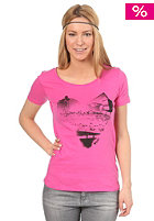 ROXY Love Your Beach S/S T-Shirt neon pink