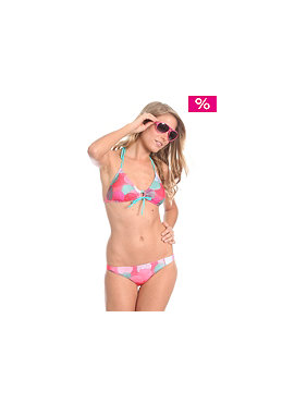 ROXY Poka Polka Rio Brazilian Bikini sunset red