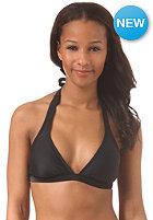 ROXY Womens 70'S Halter Bikini Top true black