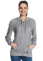 ROXY Womens Beauty Stardust Hooded Zip Sweat cool grey