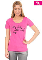 ROXY Womens Better To Surf S/S T-Shirt neon pink