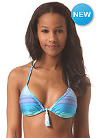 ROXY Womens Binded Tiki Triangle Bikini Top ocean breeze blue aster
