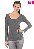 ROXY Womens Black Sky Shirt dark heather grey