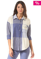 ROXY Womens Breezy light denim oversize check pla