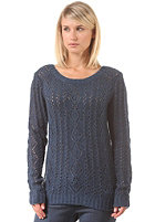 ROXY Womens Bristolbay Knit Sweat dk denim heath