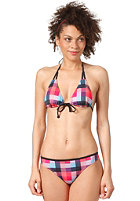 ROXY Womens Buffalo Check Regular With Front Tie Tik Bikini Pant brp buffalo che