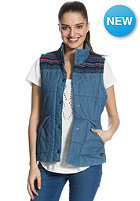 ROXY Womens Camping Denim Jacket light blue