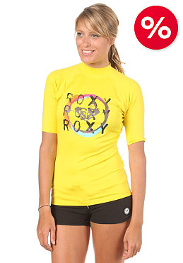 ROXY Womens Circle S/S Lycra yellow