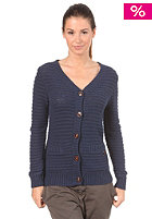 ROXY Womens Columbia Knit Cardigan indigo