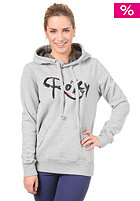 ROXY Womens Cosy Fleece Hooded Zip Sweat heather grey