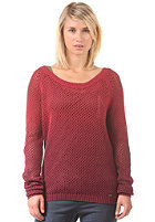 ROXY Womens Crazy City Knit Sweat grape wine