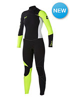 Womens CYP43 Full CZ J Wetsuit blk/wht/lemon
