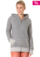 ROXY Womens Dublin Fleece Hooded Zip Jacket nbl dublIn strI