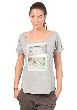ROXY Womens Emilio S/S T-Shirt heather grey
