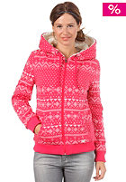 ROXY Womens Fresh Moon Sherpa Hooded Sweat ruby mister booo