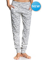 ROXY Womens Funky Noise Printed Sweat Pant cool grey