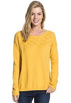 ROXY Womens Gem Of Hills Knit Sweat creamy gold