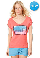 ROXY Womens Golden Land S/S T-Shirt tangarine