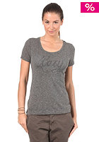 ROXY Womens Good Looking Heather S/S T-Shirt dark heather grey