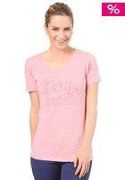 ROXY Womens Good Looking Heather S/S T-Shirt rose