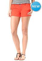 ROXY Womens Heartless Chino Short fiery orange