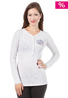 ROXY Womens Henley Heather L/S Shirt light heather grey