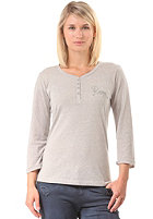 ROXY Womens Henleytee S/S T-Shirt heather grey