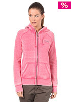 ROXY Womens Hurricane Hooded Zip Sweat rapsberry