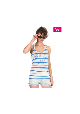 ROXY Womens I Just Be Tank Top pacific blue stripes