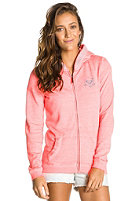 ROXY Womens Ice Cream Fleece Hooded Zip Sweat glow pink