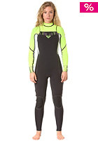 ROXY Womens Ignite 3/2 L/Sl Chest Zip Fullsuit black