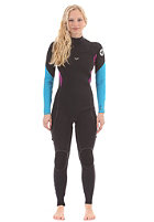 ROXY Womens Ignite Roxy 4/3 mm L/SL Chest Zip Fullsuit black
