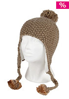 ROXY Womens into The Snow Beanie taupe