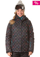 ROXY Womens Jetty Iconic Navajo Snow Jacket ant axiconicnav