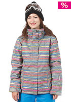 ROXY Womens Jetty Jacket new roxy stripe