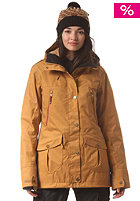 ROXY Womens KJ Tribe Jacket bone brown