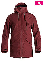 ROXY Womens Kjersti Jacket ruby wine