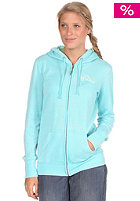 ROXY Womens Laguna Hooded Zip Sweat turquoise