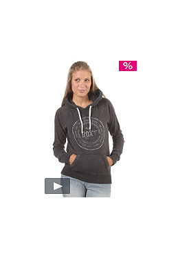 ROXY Womens License To Surf Hooded Sweat graphite