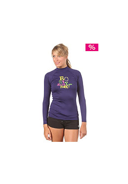 ROXY Womens Life L/S Lycra purple