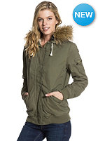 ROXY Womens Locked Out Jacket recruit olive