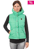 ROXY Womens Lucky Sherpa Jacket new green
